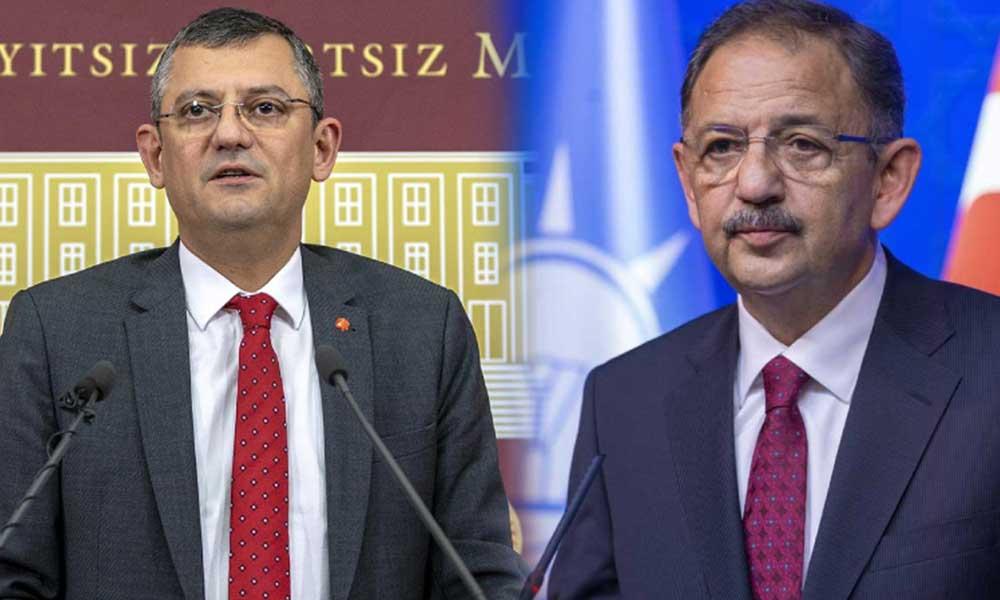 Özgür Özel AKP'lilerin hedefinde: Mehmet Özhaseki de katıldı