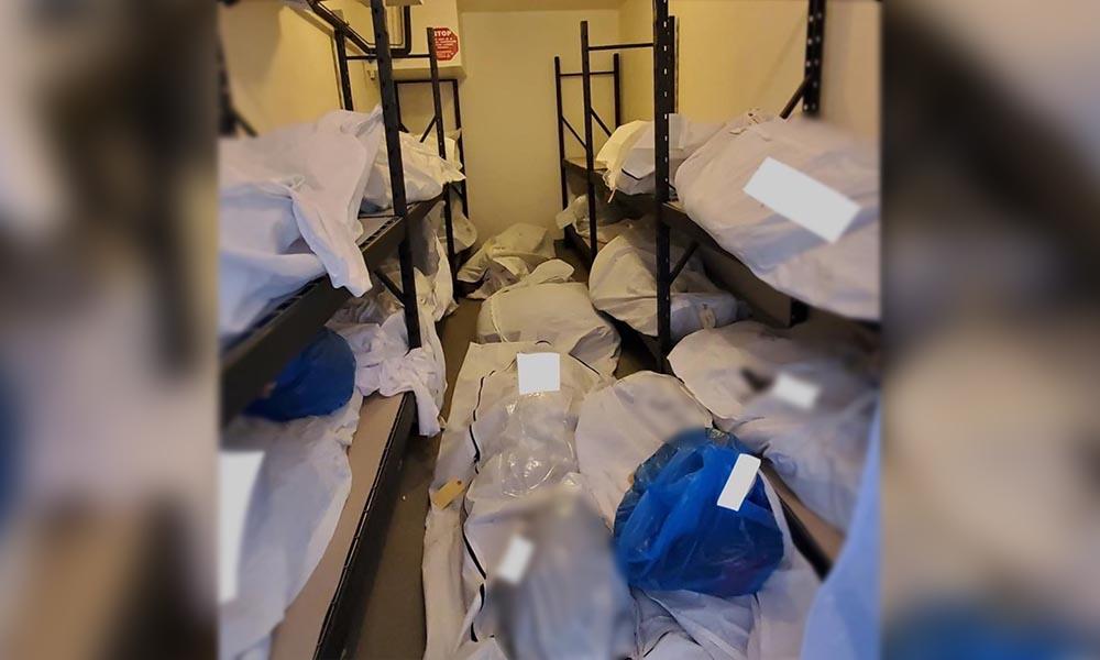 Morglarda yer kalmayınca cansız bedenler, personel odalarına koyuldu!