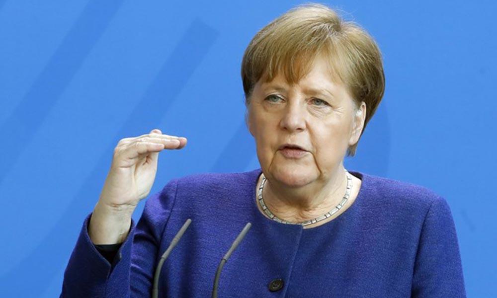 Merkel'den DSÖ'ye destek ve 'uluslararası işbirliği' çağrısı