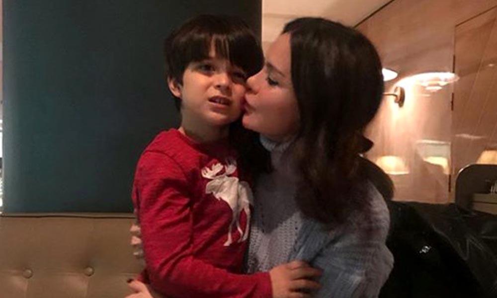 Ebru Şallı'dan oğlu Pars için ilk paylaşım