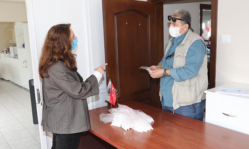 Mudanya Belediyesi'nden ücretsiz antiviral dezenfektan