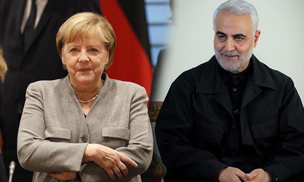 Merkel'e yönelik Süleymani soruşturmasına izin yok