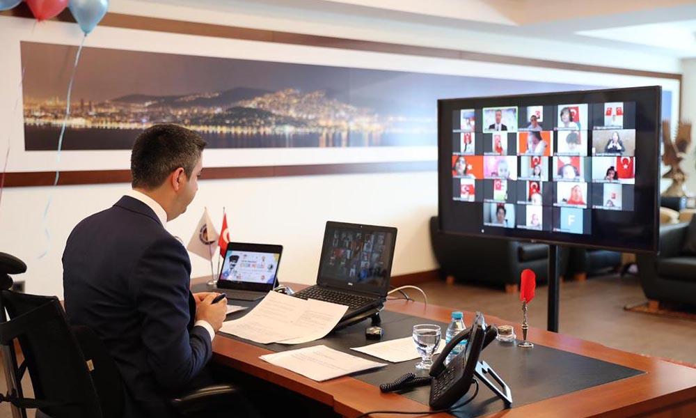 Kartal Belediyesi; Çocuk Meclisi'nin ilk toplantısını, 23 Nisan'da online gerçekleştirdi