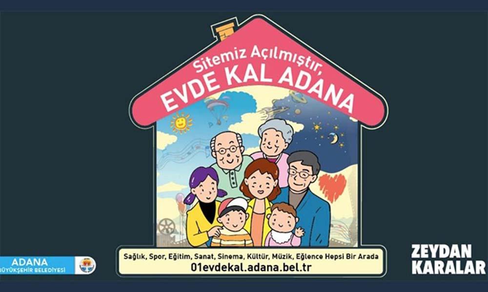 Büyükşehir'den evde kalanlar için internet sitesi