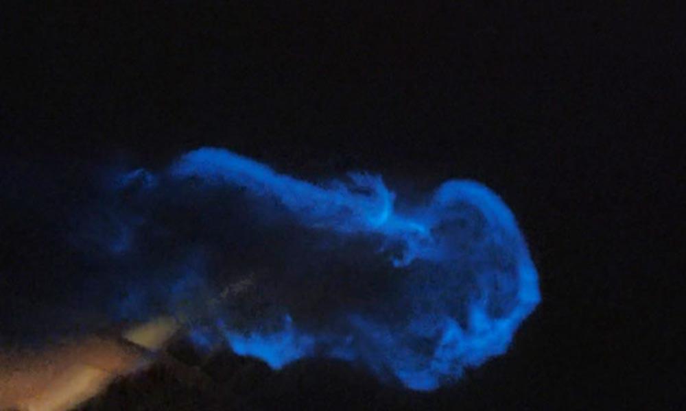 Büyükçekmece sahilinde 'mavi ışık' heyecanı