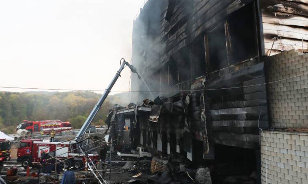 Güney Kore'deki bir şantiyede yangın: 25 işçi hayatını kaybetti