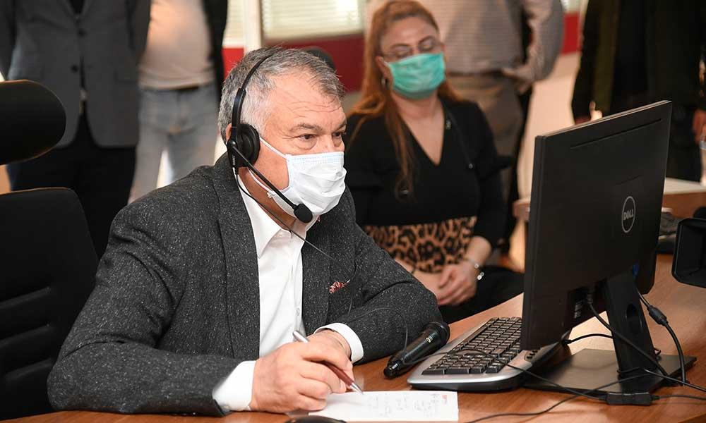 Büyükşehir günde 13 bin çağrıya cevap veriyor