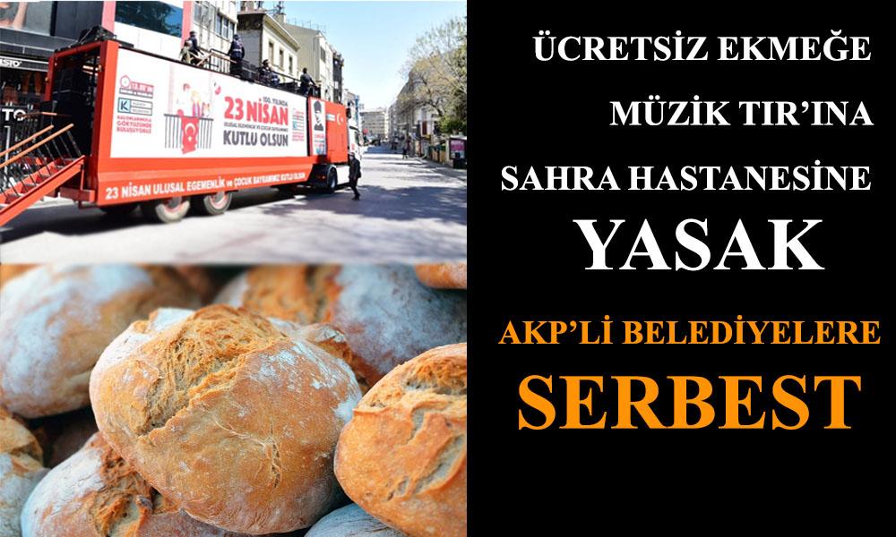 23 Nisan kutlamaları engellenen Kadıköy Belediyesi'nden AKP'li belediyelere gönderme