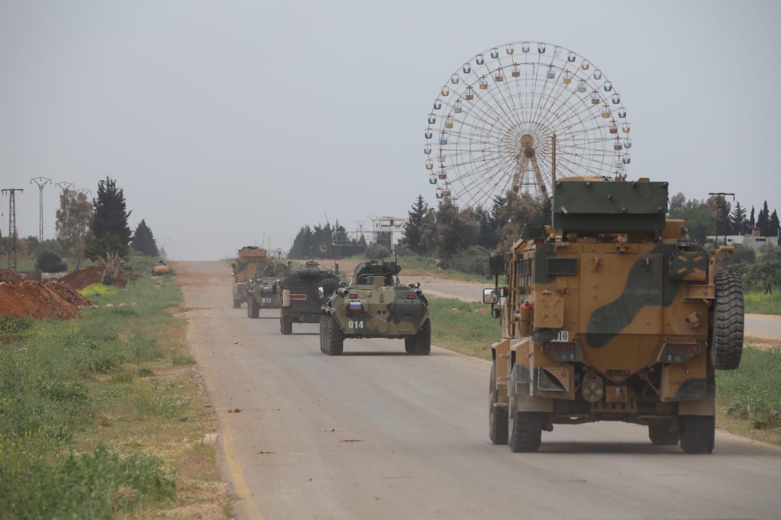 MSB: İdlib'de 5'inci Türk-Rus kara devriyesi yapıldı