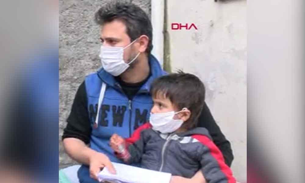 Suriye'deki ailesi gelemiyor… Lösemi hastası Abdurrahman yardım bekliyor