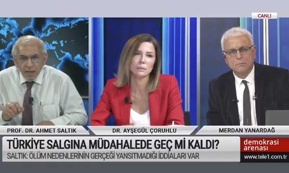 Prof. Dr. Ahmet Saltık'tan korona ölüm verileriyle ilgili dikkat çeken açıklama: Sahadan çok fazla bilgi alıyorum
