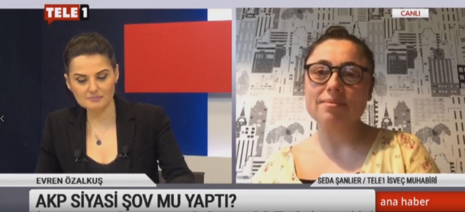 İsveç'ten getirilen hasta, AKP'nin siyasi şovu muydu? Tele1 İsveç muhabiri Seda Şanlıer açıkladı