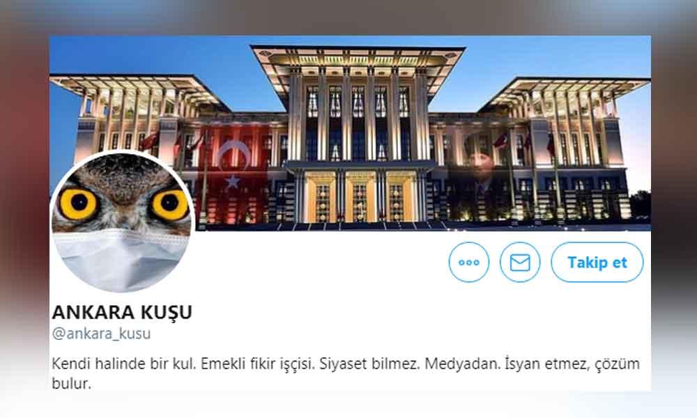 'Ankara Kuşu' hesabına FETÖ'den gözaltı