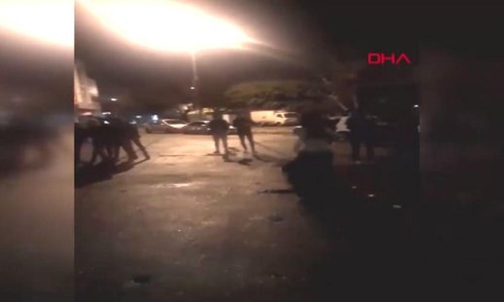 Sosyal mesafeyi hiçe saydılar… 51 kişilik dansözlü drift partisine polis baskını