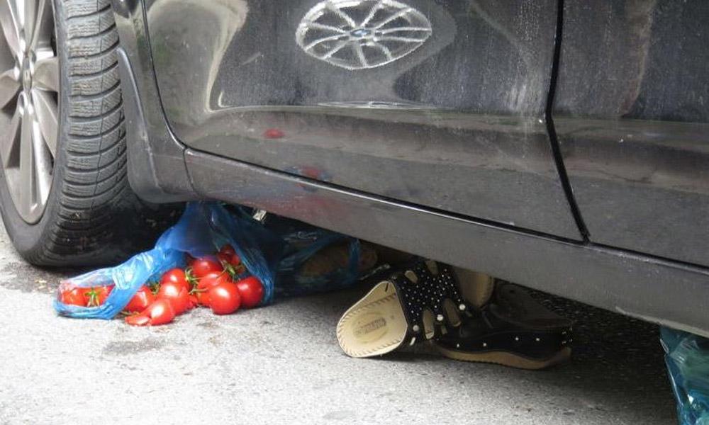Ümraniye'de korkunç kaza! Alışverişten dönüyordu
