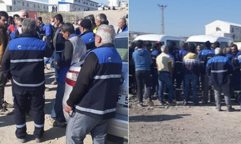 AKP'nin gözdesi Cengiz Hoding'de toplu grev!
