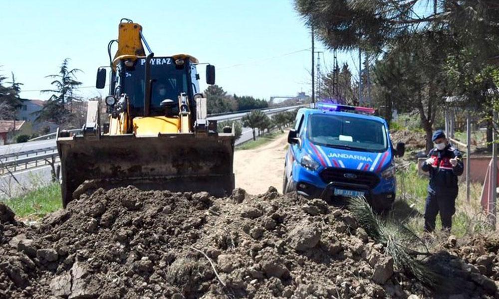Tekirdağ'dan İstanbul'a giden ara yollar, toprakla kapatılıyor