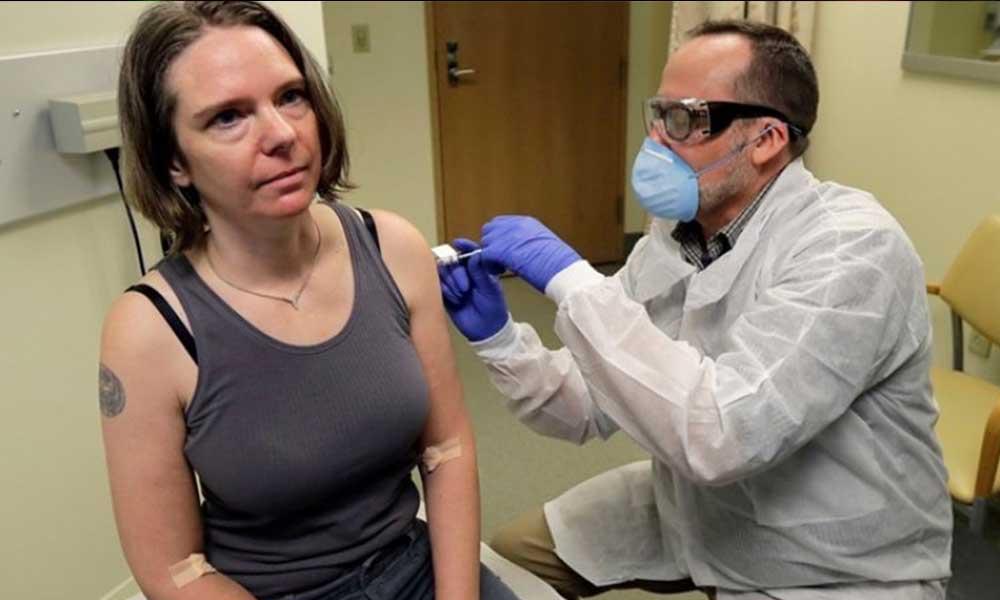 Aşı için ilk gönüllü denek olan Jennifer Haller yaşadıklarını anlattı.