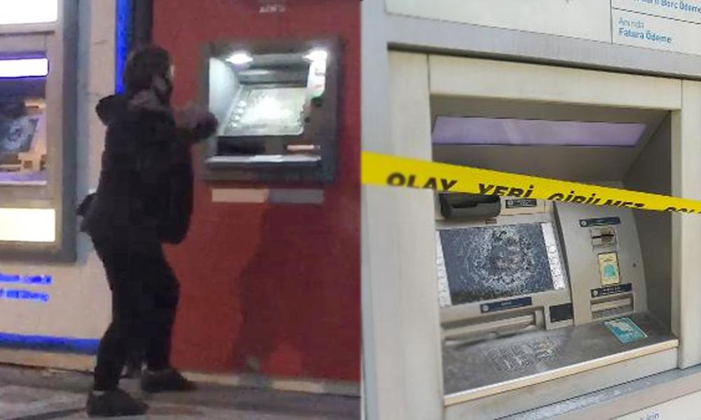 Babasına kızdı ATM'lere saldırdı!