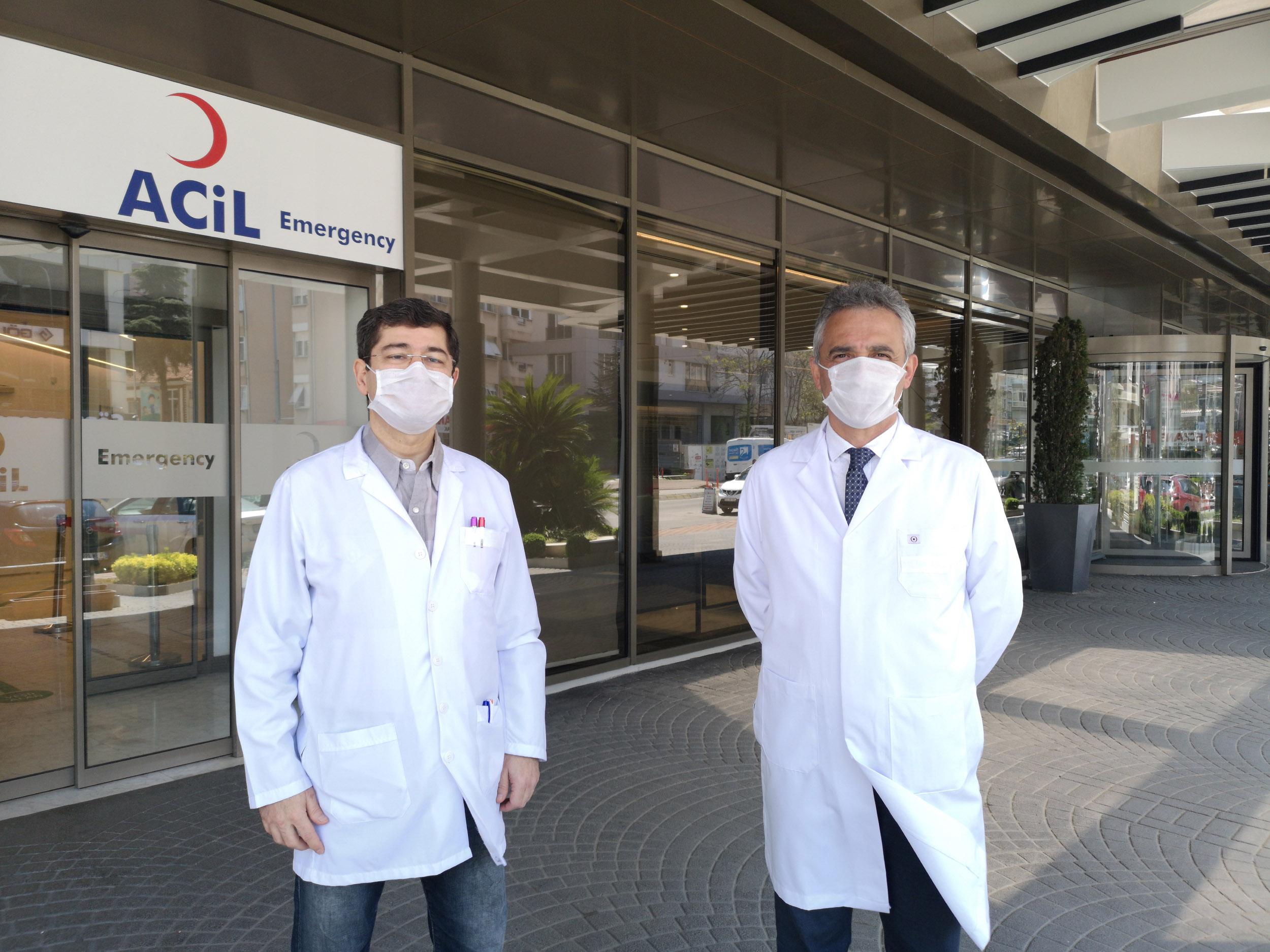Koronavirüsü yenen hekimler konuştu: Belirti yoktu, tomografide görüldü, şoke oldum