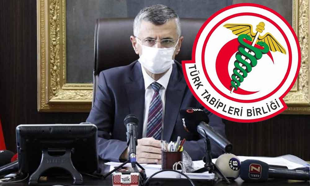 Koronavirüs'ün yayılmasından sağlıkçıları sorumlu tutan Zonguldak Valisine TTB'den tepki