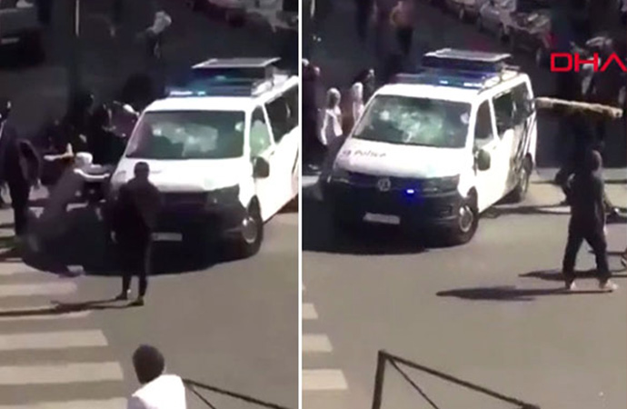 Belçika'da salgın gerginliği! Polis ile halk arasında çatışma çıktı