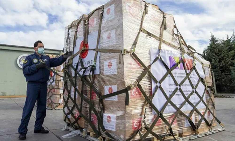 Bağış kampanyası başlatan AKP, beş ülkeye daha malzeme gönderdi