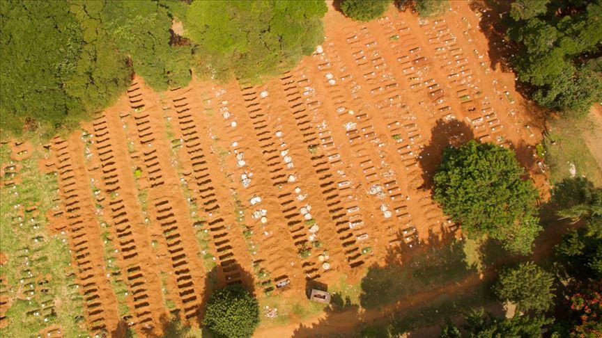 Brezilya'da son 24 saatte koronavirüs sebebiyle 449 kişi öldü
