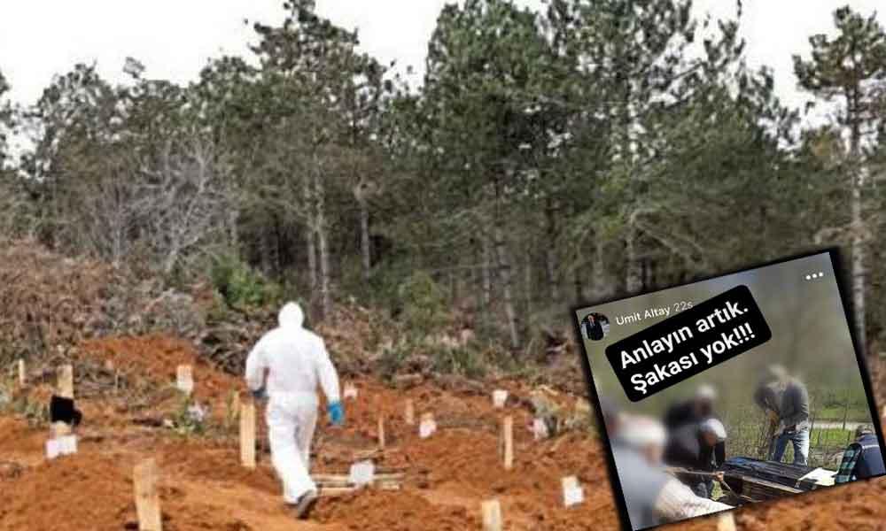 Kaymakam Vekili cenaze fotoğrafını paylaştı: Anlayın artık, şakası yok