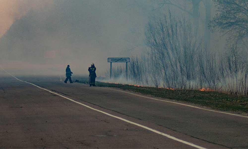 Çernobil bölgesindeki yangınlar kontrol altına alındı