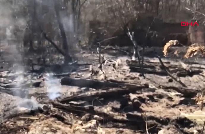 Çernobil Nükleer Santrali bölgesindeki yangın söndürüldü