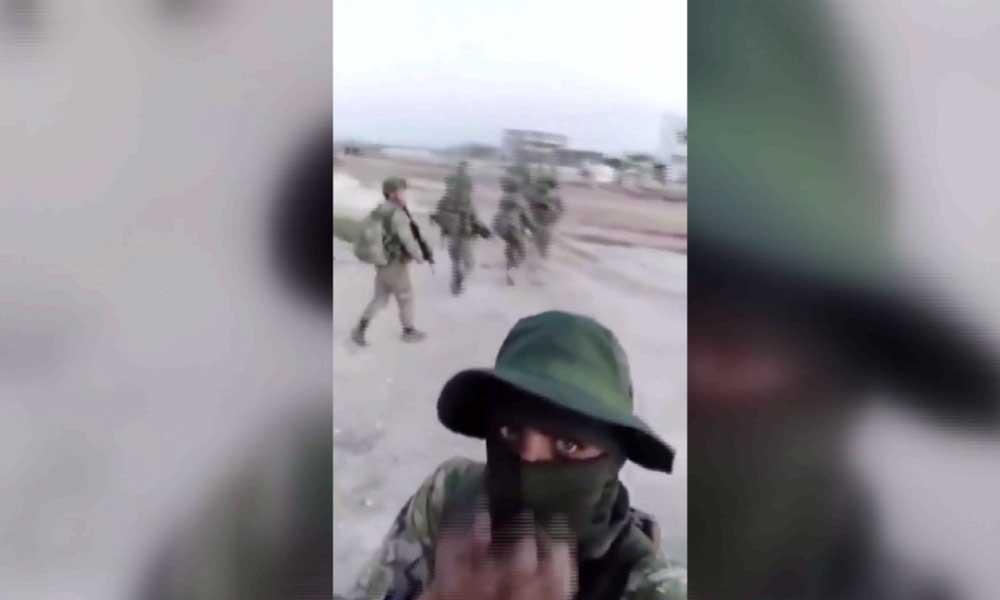 Cihatçılardan Türk askerlerine tehdit: Kafanızı buraya koyacağız
