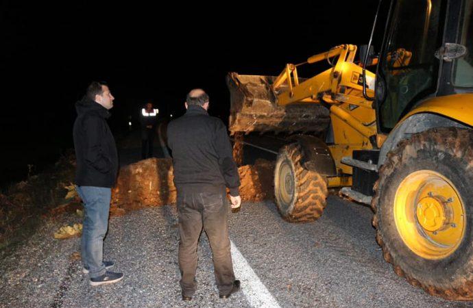 Elazığ Ağın'a, Malatya Arapgir'den gelen sürücüler alınmayacak