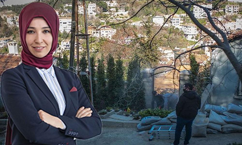 İBB yıkmıştı… Fahrettin Altun'un eşi böyle savundu: Mahalleyi pire basmaktan kurtardık