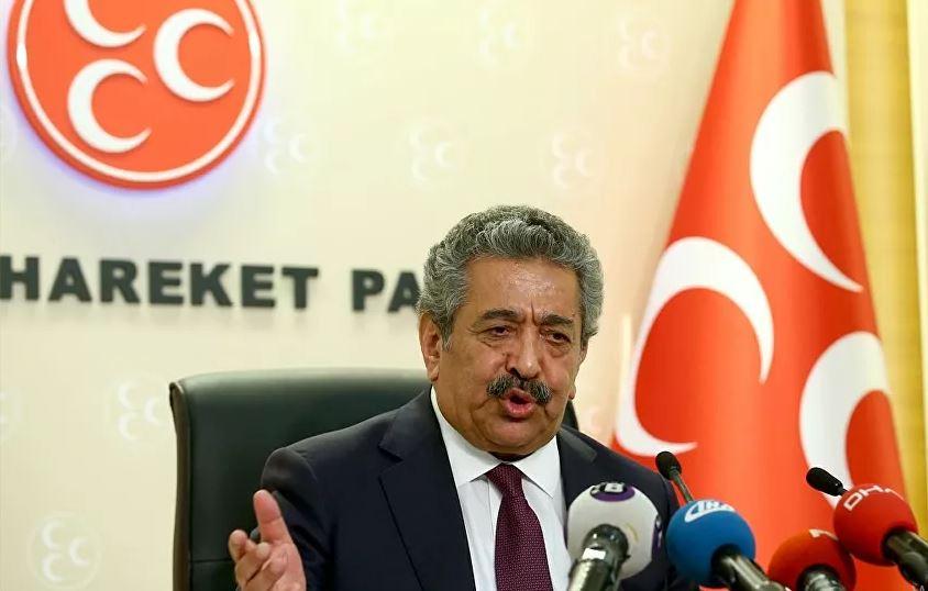 MHP Genel Başkan Yardımcısı Feti Yıldız, koronavirüs nedeniyle hastaneye kaldırıldı