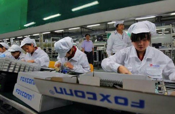 Foxconn sert bir düşüşle karşı karşıya