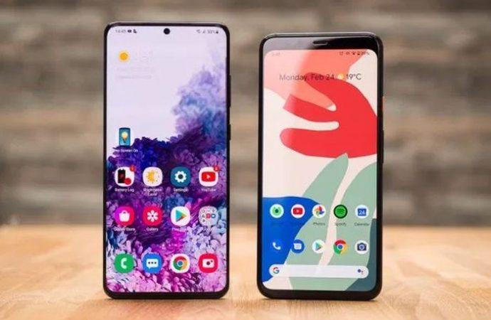 Galaxy S20 Ultra  Google Pixel 4XL'e karşı
