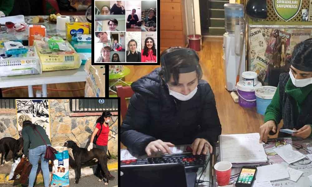 Koronavirüs günlerinde dayanışma: 200 mahalleliyle imece ağı…