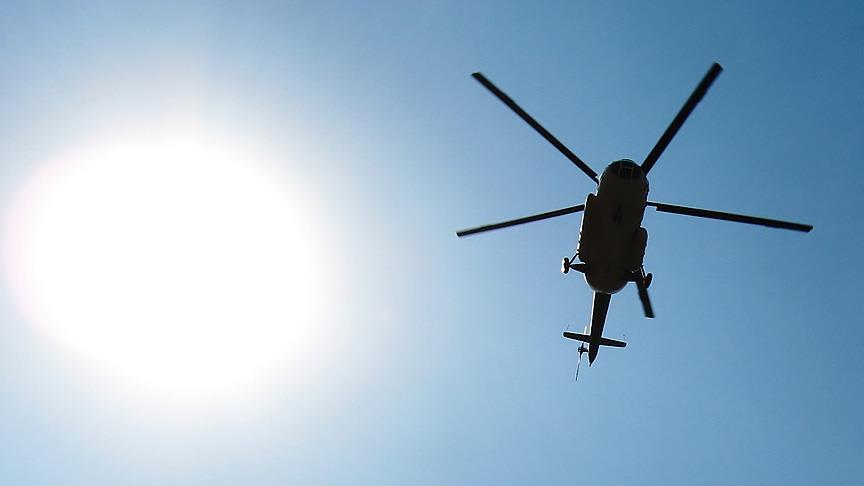 Rus askeri helikopter düştü