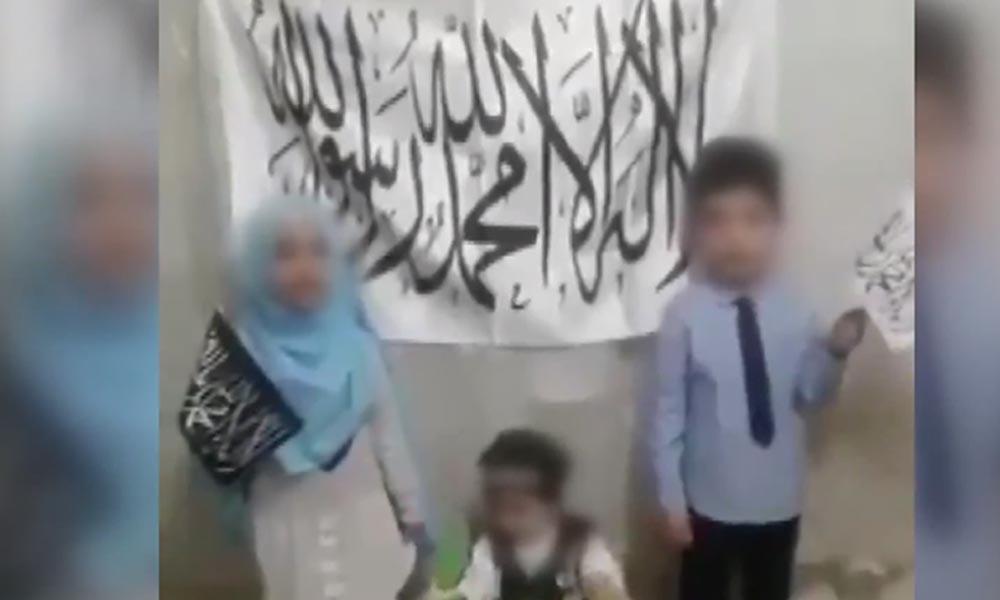 Bunun adı istismar! 23 Nisan'da çocuklara 'hilafet çağrısı' yaptırdılar