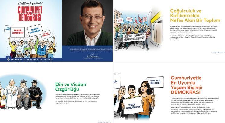 Yandaşlar, İBB broşürünü çarpıtarak linç kampanyası başlattı