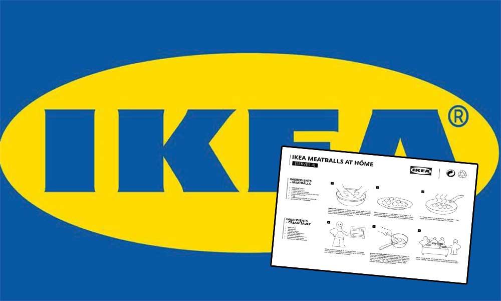 IKEA, salgın nedeniyle evden çıkamayanlar için sır gibi sakladığı İsveç köftesinin tarifini paylaştı