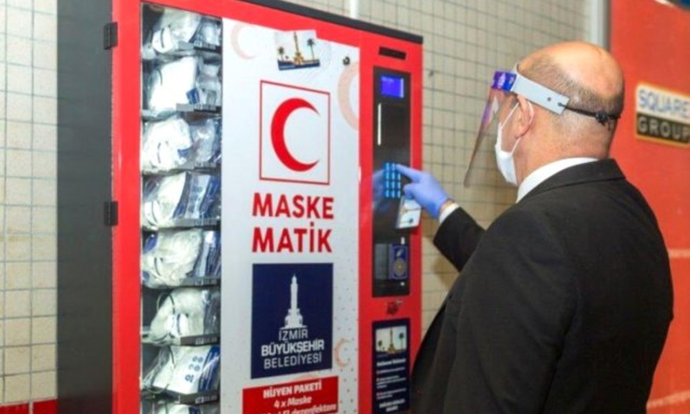 İzmir'de ücretsiz maskematik