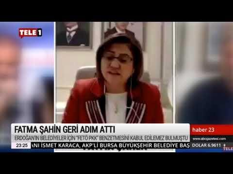 Erdoğan'ı eleştiren Fatma Şahin geri adım attı