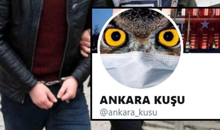 Gözaltına alınan 'Ankara Kuşu' tutuklandı