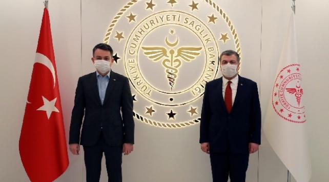 Bakan Koca ve Pakdemirli'den 'koronavirüs' toplantısı