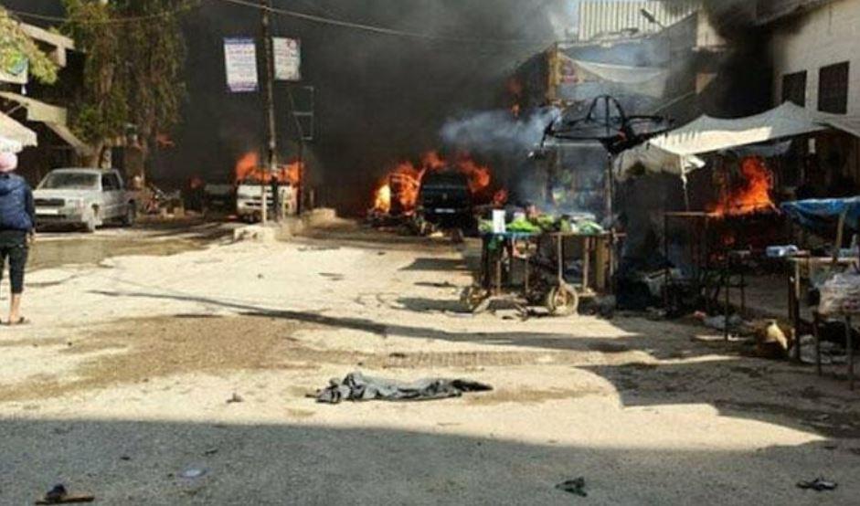 MSB'den Afrin'deki saldırıya ilişkin açıklama: 11'i çocuk, 40 kişi hayatını kaybetti