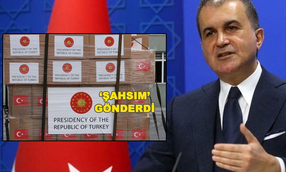 AKP'den Cumhurbaşkanlığı Forsu ile gönderilen yardım kolileri için açıklama