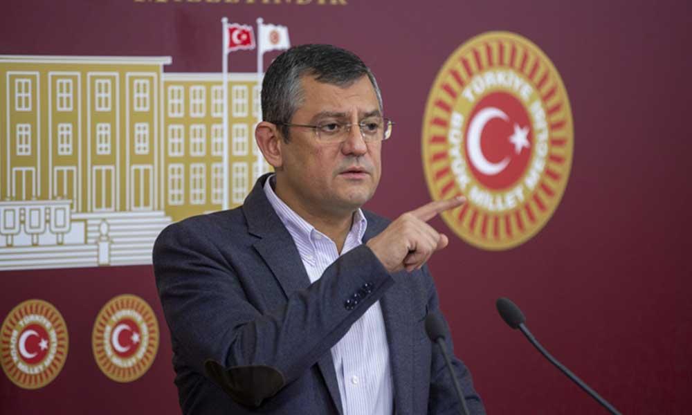 Özgür Özel: Erdoğan, anketleri görünce CHP'li belediyelere teşekkür etti