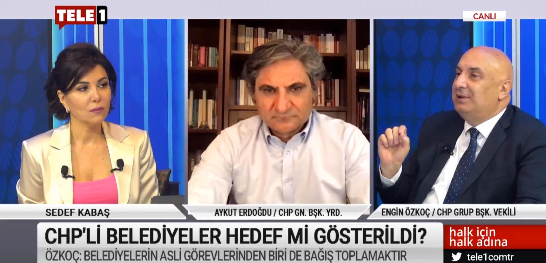 """""""AKP sadece İstanbul'da 10 gün içinde yapılacak 2 milyon bağışı engelledi!"""""""